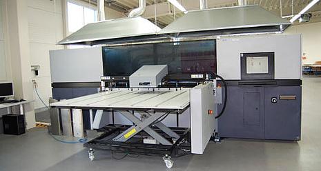 Digitaldruckmaschine von Norpack Wunsiedel
