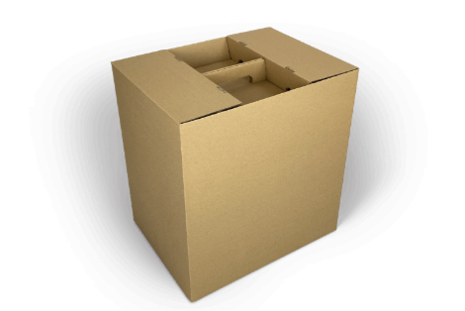 Kräuter-Versandverpackung für 6 Hülsen im Umkarton
