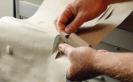 Qualitätsprüfung von Papier