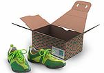 Schuhkarton mit Tragegriff - WellBag2Go