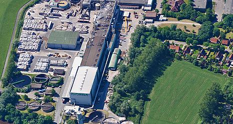 Papierfabrik in Weener