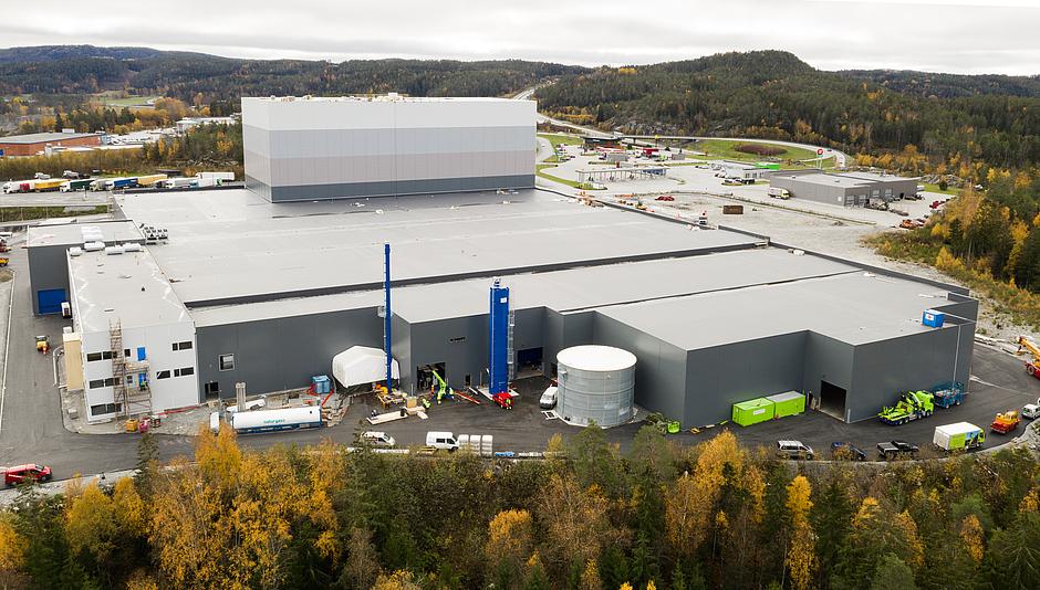 Petersen factory in Halden, Norway