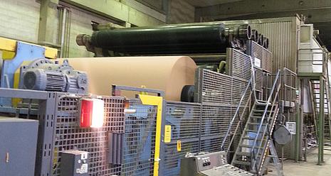 Herstellung von Papier für Wellpappe