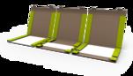 Buchverpackung für flache Packgüter