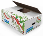 Lebensmittel Transportverpackung - Pacovis