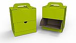 Frischebox zur lichtgeschützten Aufbewahrung von Feldfrüchten