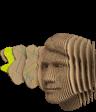 Wellpappenkopf, Rendering, Imagemotive