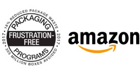 Certified Frustration Free Packaging von Amazon