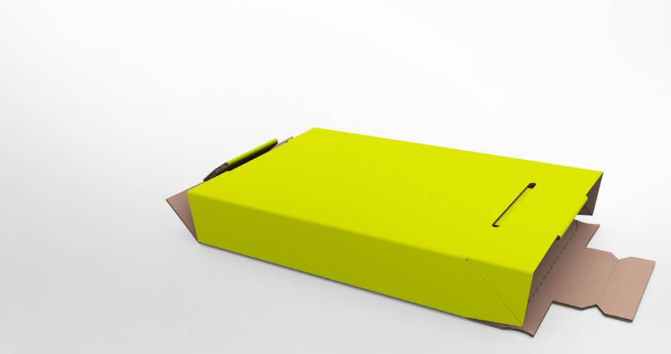 Click Fix - die sicherere Versandverpackung