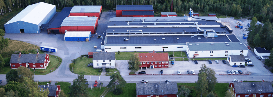 Wellpappenwerk Bäckefors, Sweden