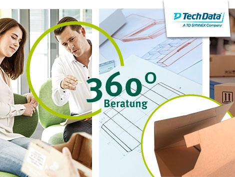 360 Grad-Beratung - Mit drei Schwerpunkten zu nachhaltigem Erfolg: Verpackungsberatung inklusive!
