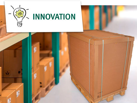 Innovation - Neues Kantenschutzprofil aus Wellpappe: Quick-Protect® in 2 Sekunden einsetzbar