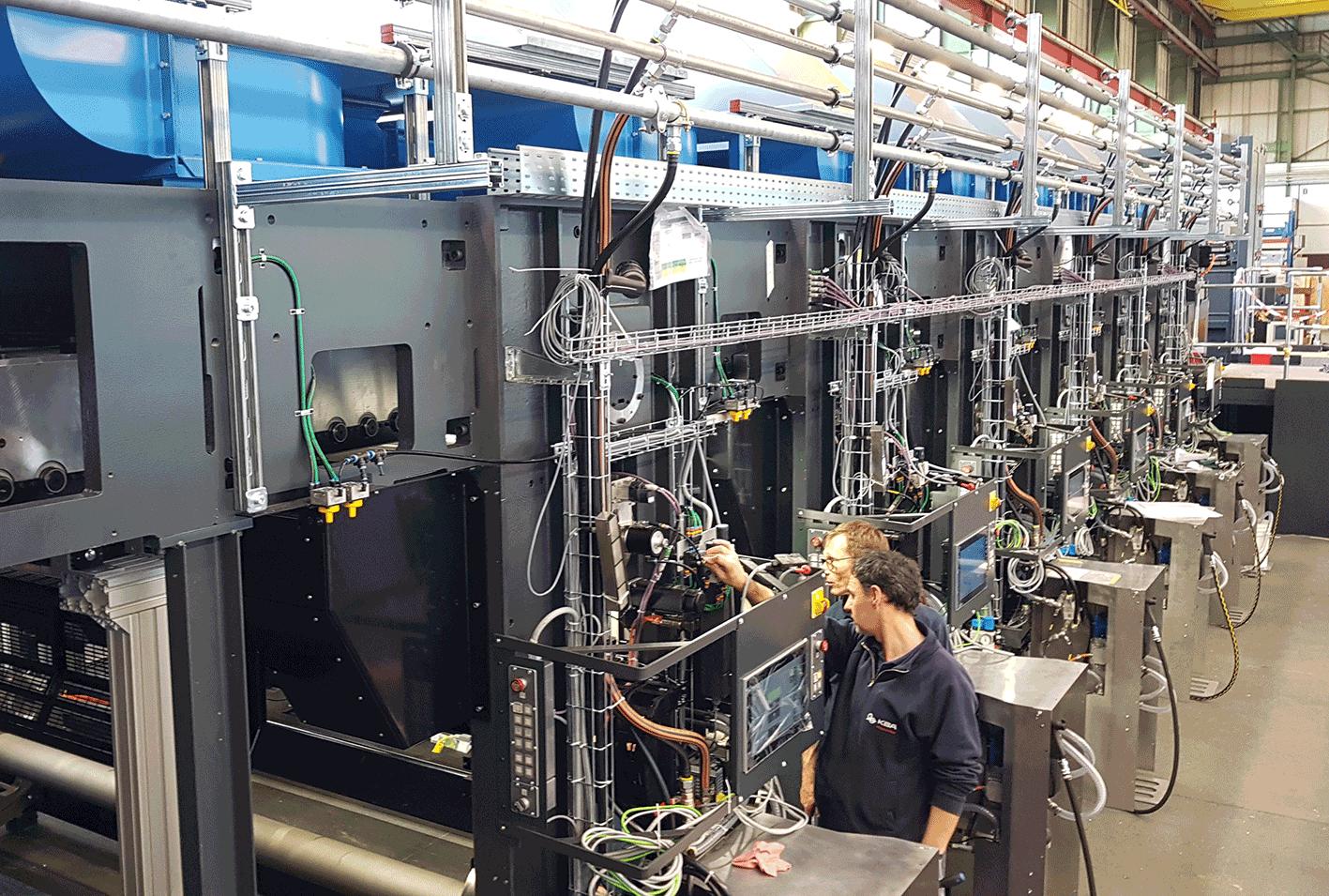 Die CorruCUT wird ab August im Klingele Werk Delmenhorst montiert und in Betrieb genommen.