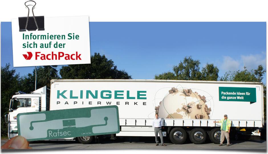 Klingele - RFID in der Logistik - FachPack 2015