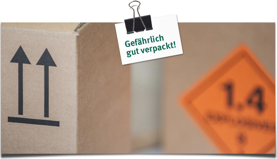 Gefährlich gut verpackt - Klingele Gefahrgutverpackungen
