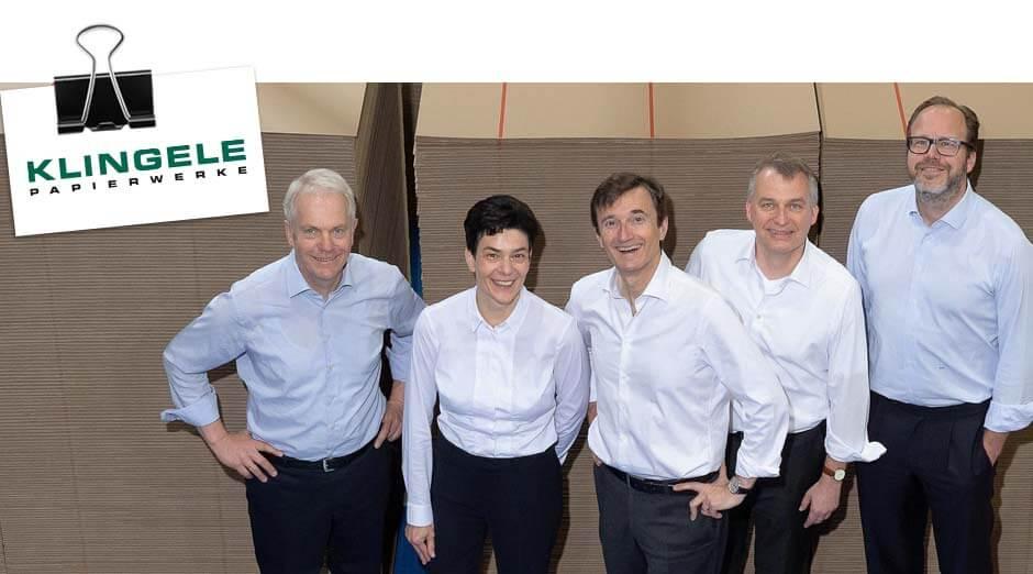 Die Geschäftsleitung der Klingele Gruppe