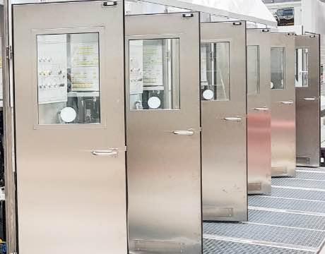 Klingele Druckmaschinen - Grunbach Inline, Türen