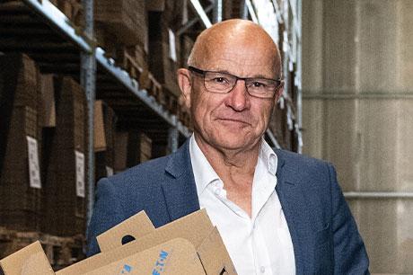 Gerard Slebus, Kommerzieller Direktor bei Klingele Golfkarton in den Niederlanden.