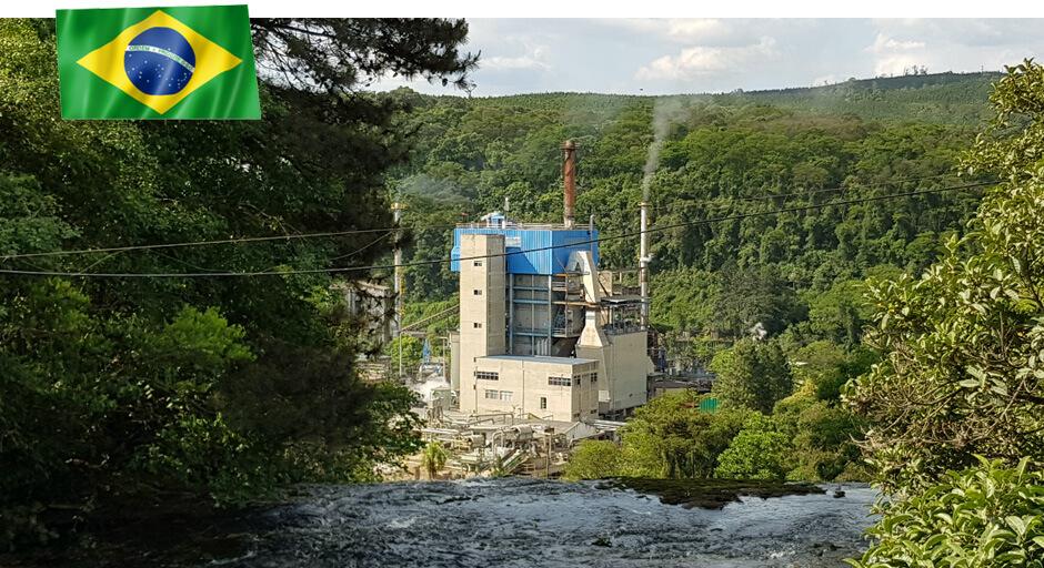 Kraftliner-Papierfabrik von Klingele in Brasilien