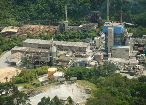 Kraftliner-Papierfabrik in Nova Campina im Bundesstaat São Paolo