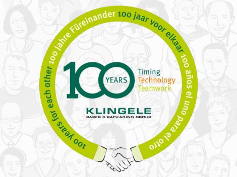 100 Jahre Füreinander - KLINGELE - Tempo Technik Teamwork