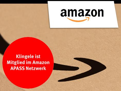 Klingele ist Mitglied im Amazon APASS Netzwerk
