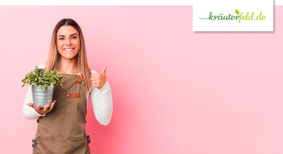 Pflanzenversandverpackung für den E-Commerce - kräuterfeld.de