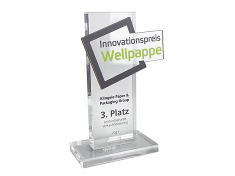 Innovationspreis für Klingele - 3. Platz Leistungsgruppe Verkaufsförderung