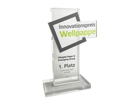 Innovationspreis für Klingele - 1. Platz Leistungsgruppe Displays