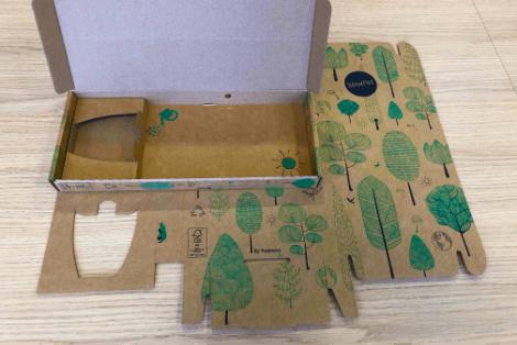 Verpackungslösung für Pflanzenversand per Briefpost