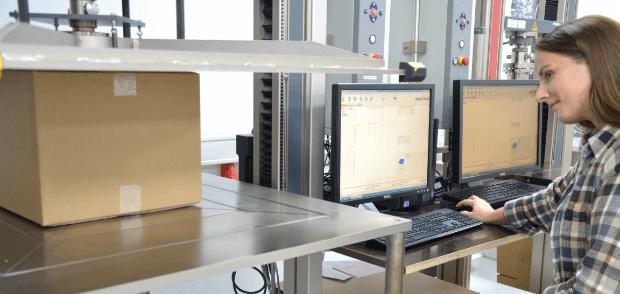 Klingele Kurztest Laborprüfung für Amazon Frustration Free Packaging