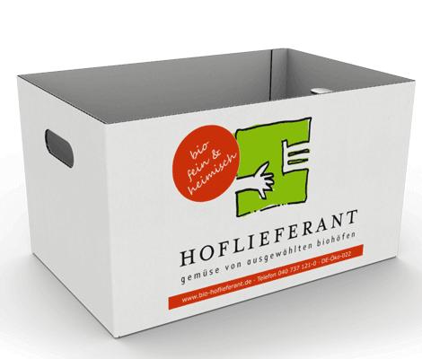 Trageverpackung für Lebensmittel