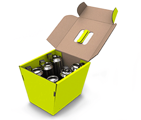 The cool box is the ideal box for transporting cold drinks