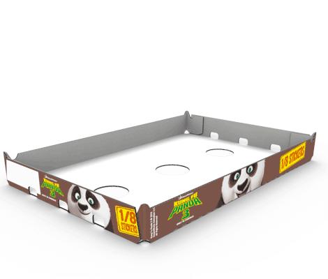 Stanzverpackung Milchprodukte - Zott