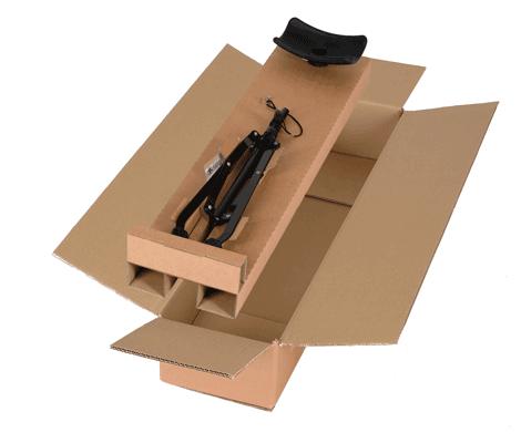 Verpackung für Tubaständer