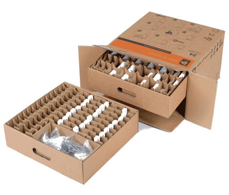Schubkastenbox für Kleinteile