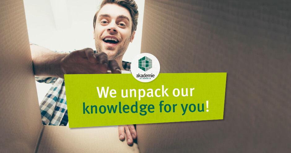 We unpack our knowledge for you – Klingele Akademie