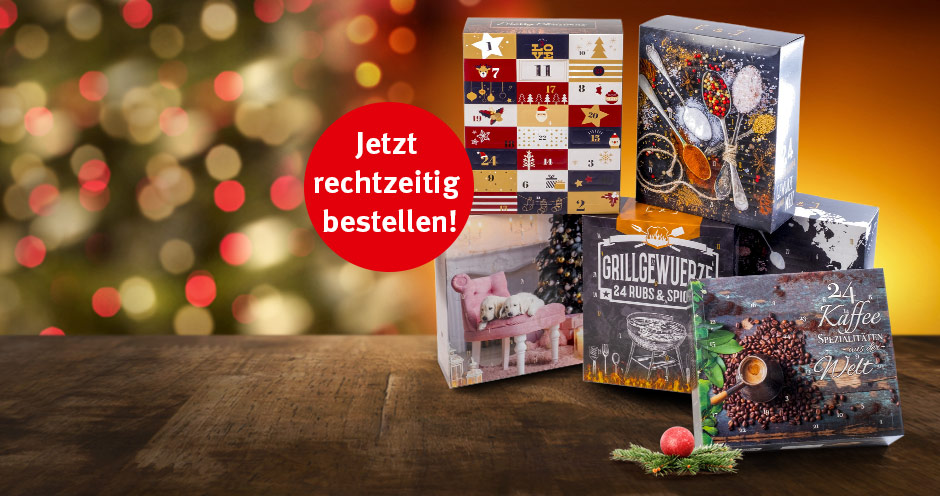 Klingele Adventskalender 2018 aus 100 % Wellpappe