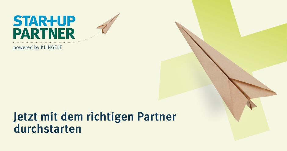 Klingele Startup Partner - Jetzt mit dem richtigen Partner durchstarten