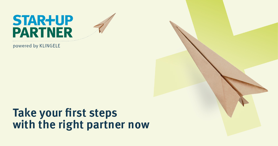 Klingele Startup Partner - Take your first steps with the right partner now