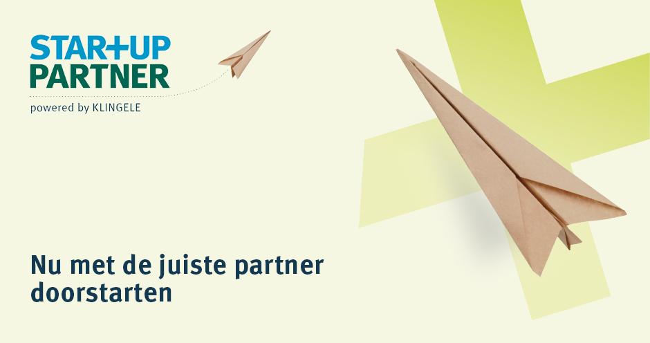 Klingele Startup Partner - Nu met de juiste partner doorstarten