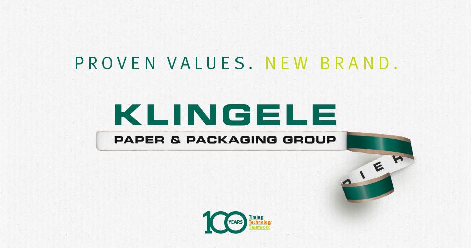 Klingele Group with a new uniform brand identity