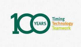 100 years timing technology teamwork at Klingele