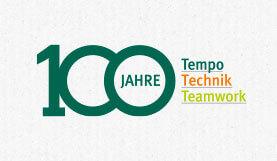 100 Jahre Tempo Technik Teamwork bei Klingele