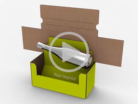 Video zu Flaschenversandverpackung