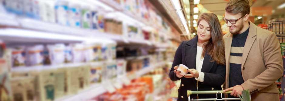 Verpackungen für Molkereiprodukte