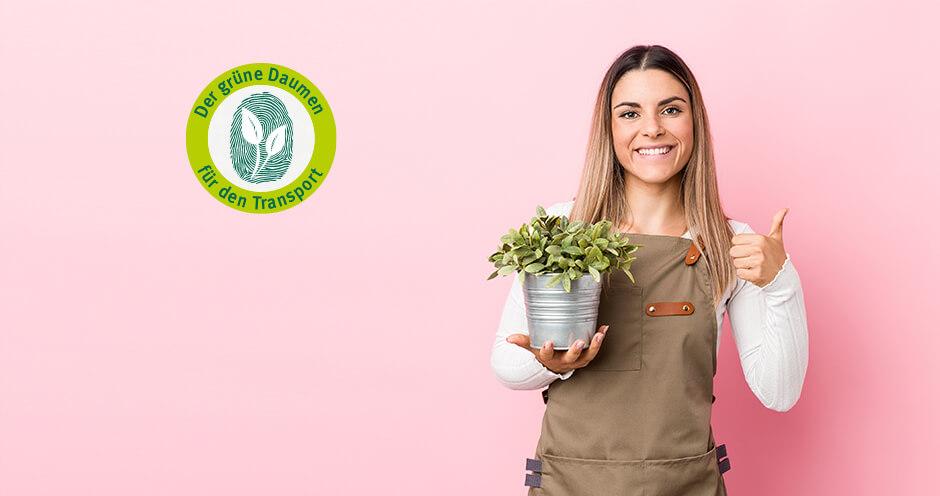 Nachhaltige Verpackungen mit dem grünen Daumen