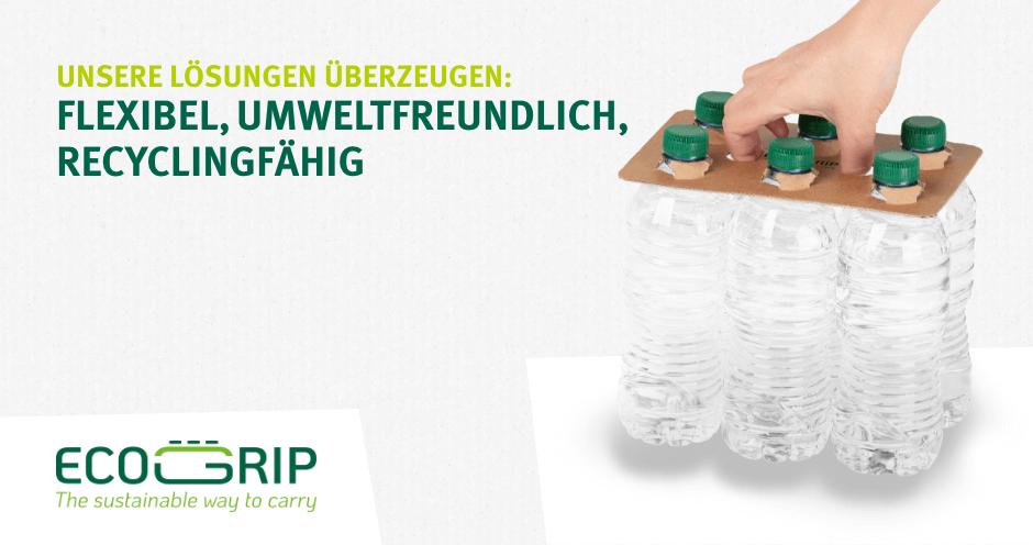 Unsere Lösungen überzeugen: Flexibel, umweltfreundlich, recyclingfähig