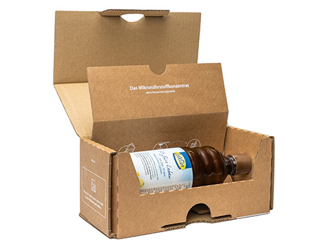Klingele Flaschenversandverpackung