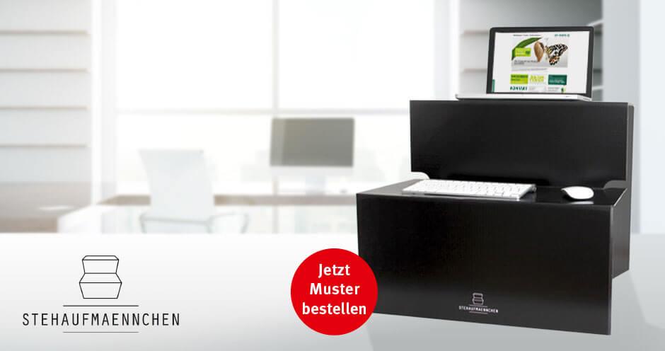 stehaufmaennchen der mobile schreibtisch klingele papierwerke. Black Bedroom Furniture Sets. Home Design Ideas